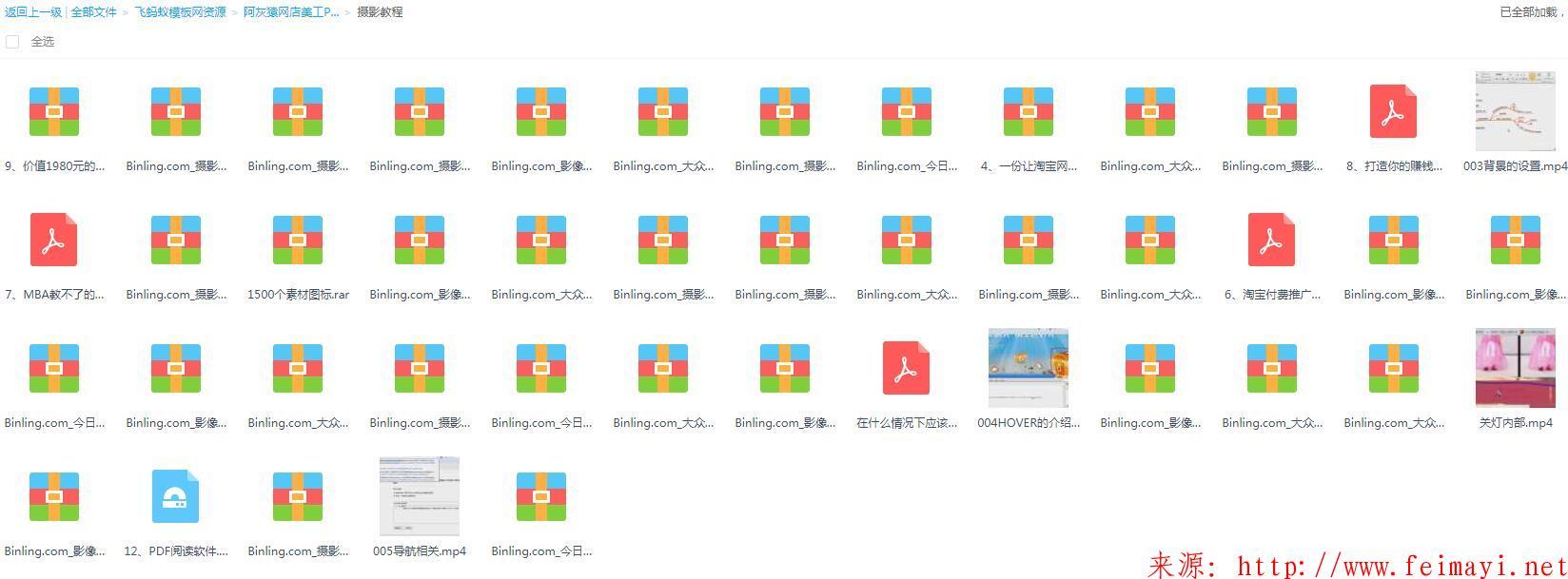 [Photoshop] 阿灰猿网店美工PS视频教程全套培训扣图调色切片代码