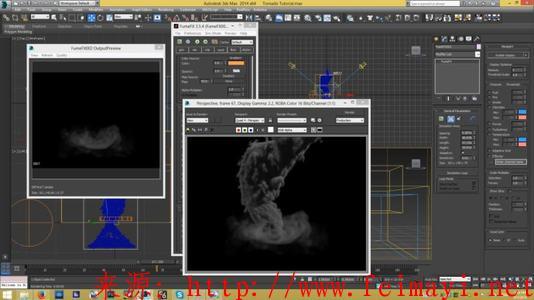 3Dmax高级进阶教程FumeFX云朵教程视频教程